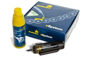Resim Scottoiler V-System Kit Universal Otomatik Zincir Yağlama