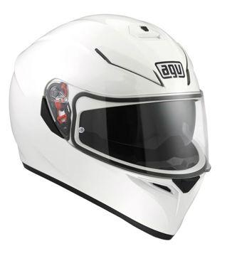 Resim AGV K3 SV PLK Kapalı Motosiklet Kaskı Beyaz