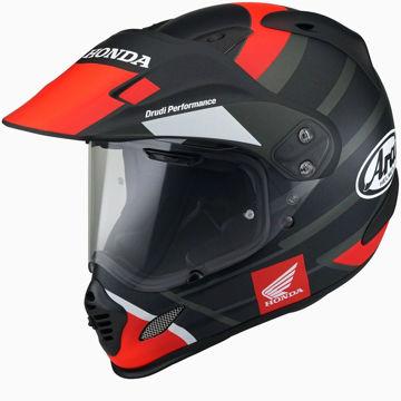 Resim Arai Tour X4 Honda Africa Twin Kapalı Motosiklet Kaskı