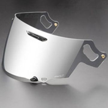 Resim Arai Vas-V Shield Gümüş Aynalı Vizör