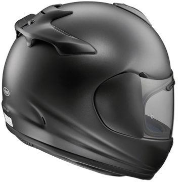 Resim Arai Axces 3 Mat Siyah Kapalı Motosiklet Kaskı