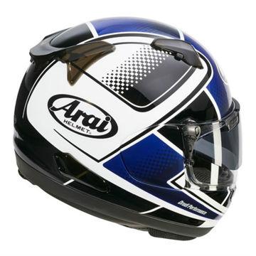Resim Arai QV Pro Box Blue Kapalı Motosiklet Kaskı