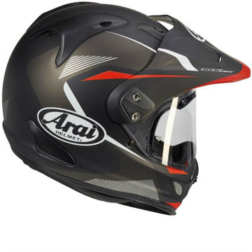 Resim Arai Tour X4 Break Red Kapalı Motosiklet Kaskı