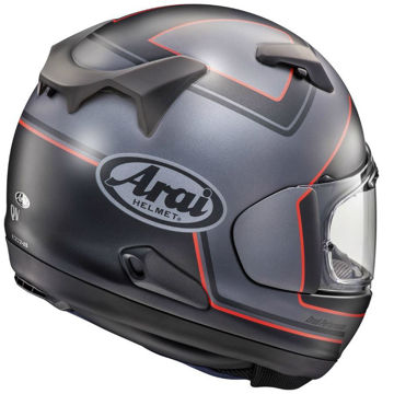 Resim Arai QV Pro Triple Black Kapalı Motosiklet Kaskı