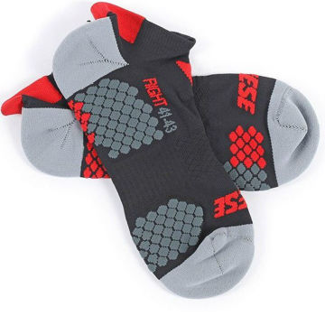 Resim Dainese D-Core Footie Termal Motosiklet Çorabı Siyah Kırmızı