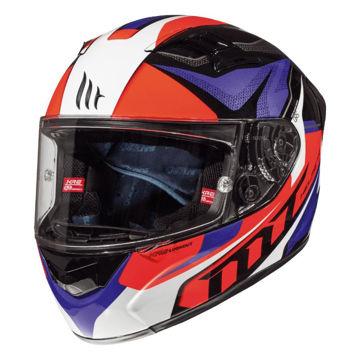 Resim MT Kask KRE Lookout G2 Gloss Fluor Red Kapalı Motosiklet Kaskı