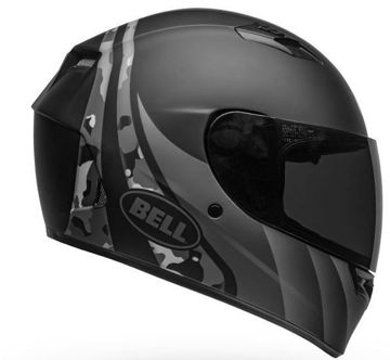 Resim BELL Qualifier İntegrity Kapalı Motosiklet Kaskı Mat Siyah Titanyum Camo