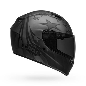 Resim BELL Qualifier Honor Kapalı Motosiklet Kaskı Mat Titanyum Siyah