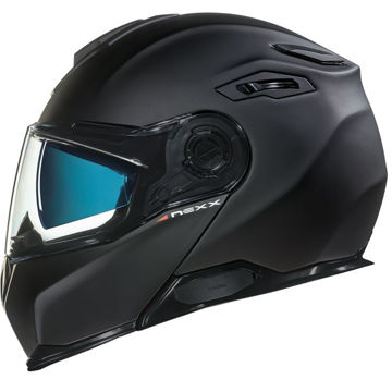 Resim NEXX X.Vilitur Çeneden Açılır Motosiklet Kaskı Mat Siyah