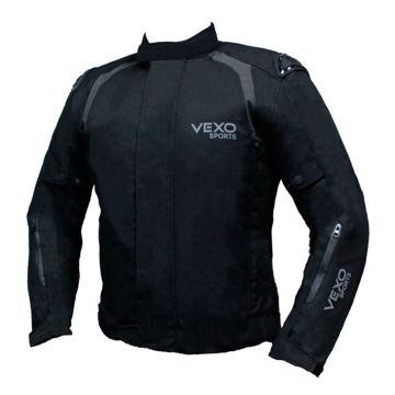 Resim VEXO Neo Mevsimlik Motosiklet Montu Siyah