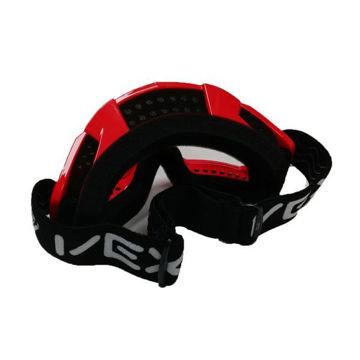 Resim Vexo Motokros Gözlük Kırmızı