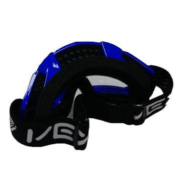 Resim Vexo Motokros Gözlük Mavi