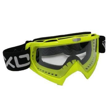 Resim Vexo Motokros Gözlük Neon Sarı