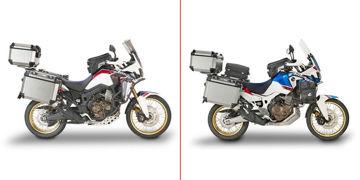 Resim Givi 1161Kit Honda CRF1000L Africa Twin 18-19 - Adventure Yan Çanta Taşıyıcı Bağlantı Kiti