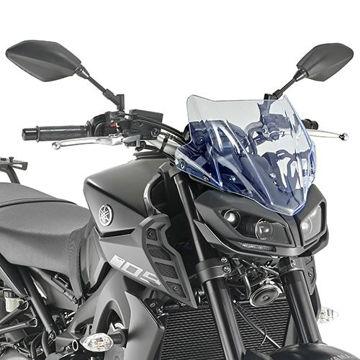 Resim Givi A2132BL Yamaha MT-09 17-18 Rüzgar Siperlik