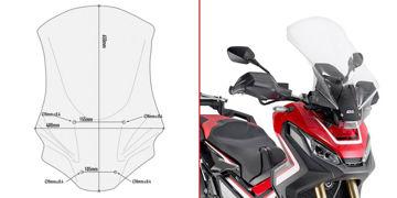 Resim Givi D1156ST Honda X-ADV 750 17-19 Rüzgar Siperlik