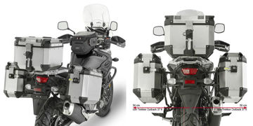 Resim Givi PL3112Cam Suzuki DL650 V-Strom 17-19 Yan Çanta Taşıyıcı