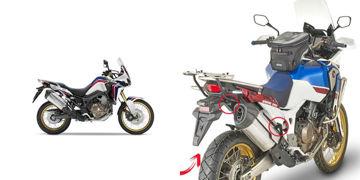 Resim Givi PLR1161 Honda CRF1000L Africa Twin 18-19 - Adventure Sports 18-19 Yan Çanta Taşıyıcı