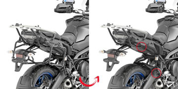 Resim Givi PLR2139 Yamaha Tracer 900 - Tracer 900 GT 18-19 Yan Çanta Taşıyıcı