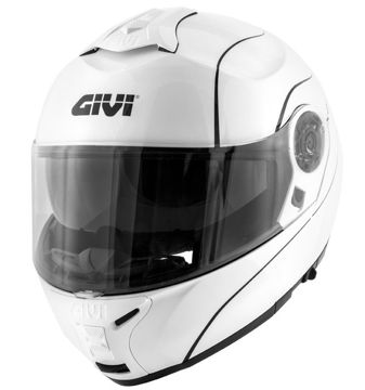 Resim Givi X21 Motosiklet Kaskı Beyaz