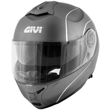 Resim Givi X21 Motosiklet Kaskı Mat Titanyum