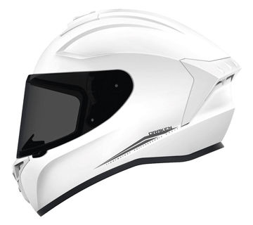 Resim Axxis Kask Draken Motosiklet Kaskı Sedef Beyaz
