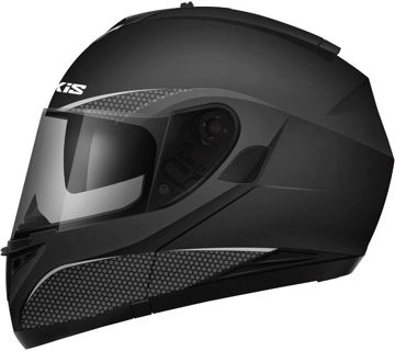 Resim Axxis Roc SV Çene Açılır Motosiklet Kaskı Mat Siyah