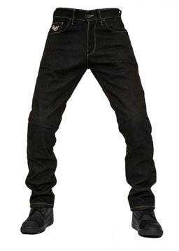 Resim The Biker Jeans City Biker Cold Killer Motosiklet Pantolonu Siyah