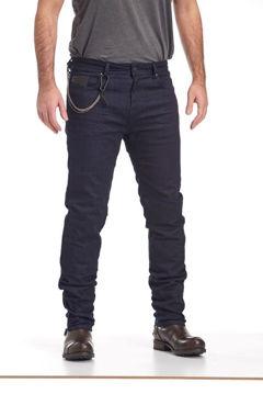 Resim Nyks Jeans NY01 Kevlar Motosiklet Pantolonu Mavi
