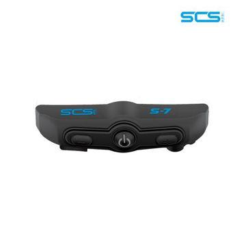 Resim SCS S7 Motosiklet Bluetooth Intercom Sistemi