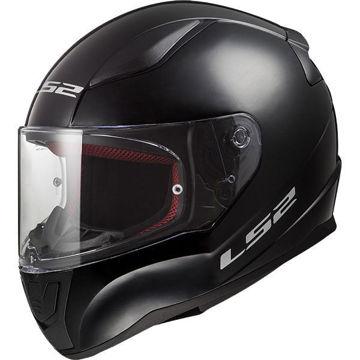 Resim LS2 FF353 Rapid Kapalı Motosiklet Kaskı Parlak Siyah