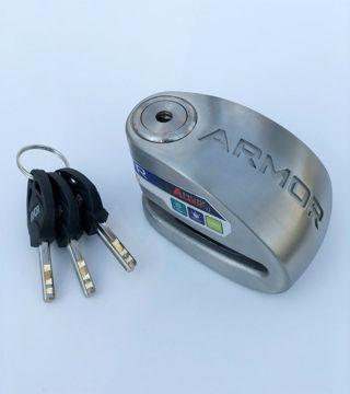 Resim Armor 14 mm SRA Belgeli Alarmlı Disk Kilidi