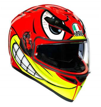 Resim Agv K3 SV Multi Birdy Kapalı Motosiklet Kaskı