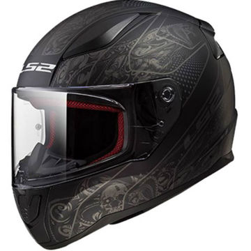 Resim LS2 FF353 Rapid Crypt Motosiklet Kaskı Mat Siyah