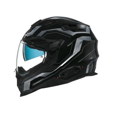 Resim NEXX X.WST 2 Supercell Motosiklet Kaskı Siyah Gri