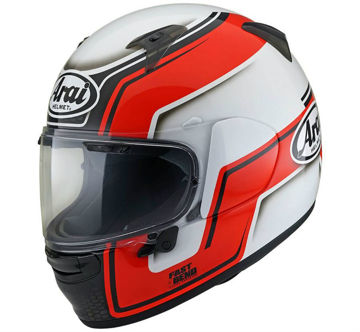 Resim Arai Profile-V Bend Kapalı Motosiklet Kaskı Kırmızı