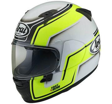 Resim Arai Profile-V Bend Kapalı Motosiklet Kaskı Sarı