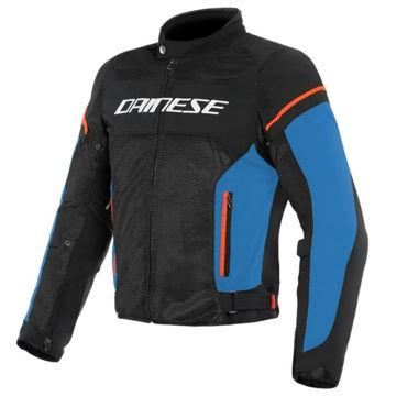 Resim Dainese Air Frame D1 Tekstil Motosiklet Montu Siyah Mavi