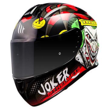 Resim MT Kask Targo Joker A1 Kapalı Motosiklet Kaskı