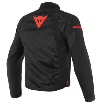 Resim Dainese Air Frame D1 Tekstil Yazlık Motosiklet Ceketi Siyah Neon Kırmızı