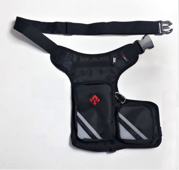 Resim Windtech Motosiklet Bacak çantası Siyah