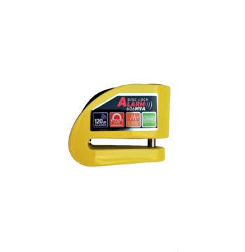 Resim Armor 6 mm Alarmlı Disk Kilidi Sarı